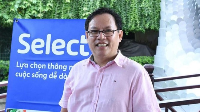 Ông Diệp Dũng - nguyên Chủ tịch Saigon Co.op