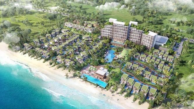 Phối cảnh dự án Hyatt Regency Ho Tram Resort & Spa do IFF Holdings đầu tư