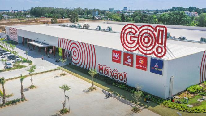 Một đại siêu thị GO! tại Việt Nam của Central Retail
