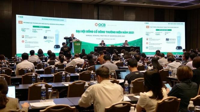 Toàn cảnh ĐHĐCĐ thường niên năm 2021 của Ngân hàng TMCP Phương Đông (OCB)