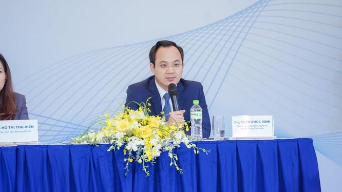 Quyền Tổng Giám đốc VietinBank Securities Trần Phúc Vinh
