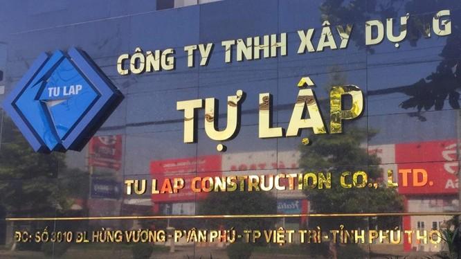 Làm 4 dự án 7.800 tỉ đồng tại Phú Thọ, Cty TNHH xây dựng Tự Lập lớn cỡ nào?