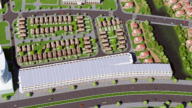 Phối cảnh dự án Khu dân cư tại xã Phước Thiền (Đồng Nai)