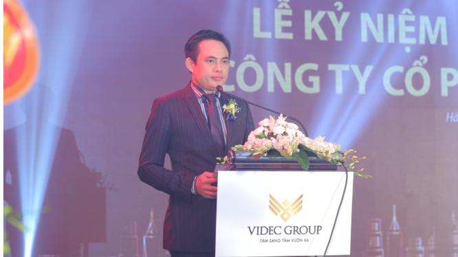 Ông Trần Đức Huế - Chủ tịch HĐQT Videc Group