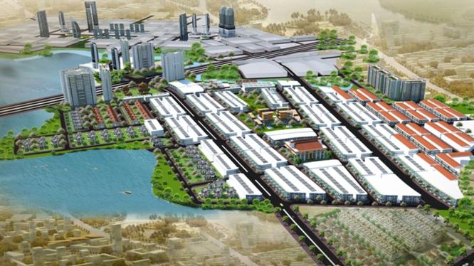 Phối cảnh dự án Khu Dân Cư và Tái Định Cư Xã Phước Tân (Đồng Nai) do CTCP Phát triển hạ tầng An Hưng Phát làm chủ đầu tư