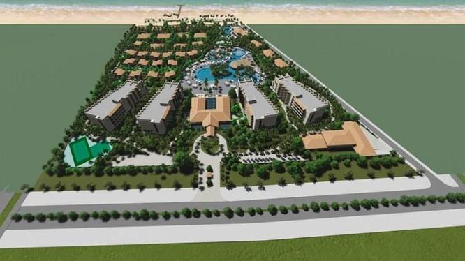Phối cảnh dự án Amor Garden do Xuân Phú Hải làm chủ đầu tư