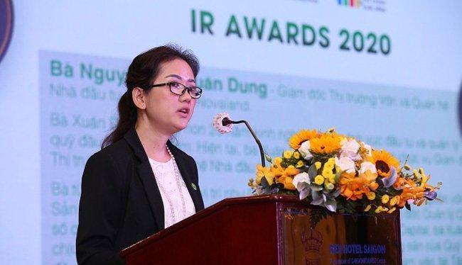 Bà Nguyễn Thị Xuân Dung thôi chức Quyền Giám đốc Tài chính của Novaland (Ảnh: NVL)