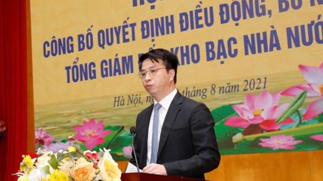 Ông Trần Quân - Tân Tổng Giám đốc Kho bạc Nhà nước (Ảnh: KBNN)