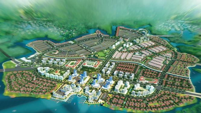 Phối cảnh dự án Waterfront Đồng Nai của NLG