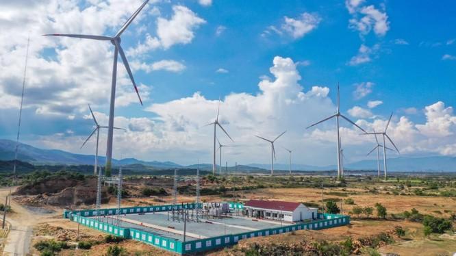 Trungnam Group vận hành thương mại dự án Điện gió số 5 - Ninh Thuận