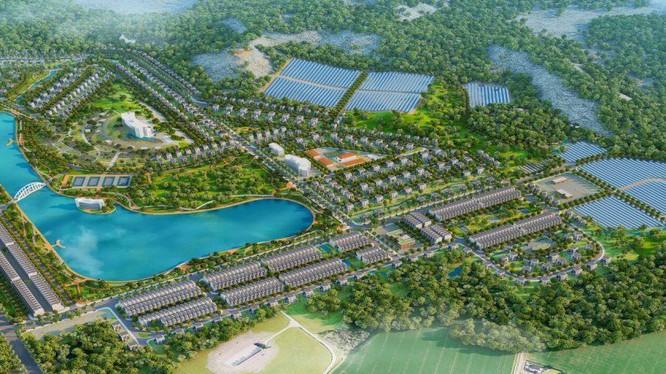 Phối cảnh dự án Khu đô thị du lịch năng lượng xanh tại Phú Yên của R&H Group