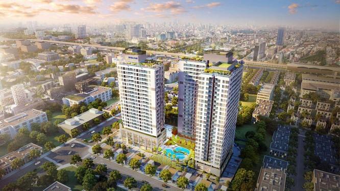 Một dự án do Long Giang Land phát triển