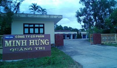 CTCP Minh Hưng Quảng Trị là doanh nghiệp có nhiều năm sản xuất và kinh doanh xi măng, gạch tuynel tại tỉnh Quảng Trị