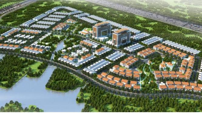 Phối cảnh dự án Khu dân cư tại xã Phước Thiền, tỉnh Đồng Nai do KAC phát triển