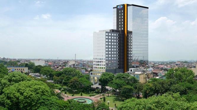 T&D Group đã chi 264,5 tỉ đồng để mua lại các toà nhà Vipco Tower và Central Tower có vị trí đắc địa tại Tp. Hải Phòng
