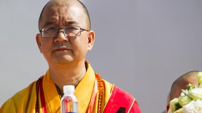 Pháp sư Thích Học Thành - người vừa bị Hội đồng trị sự Hiệp hội Phật giáo Trung Quốc bãi chức vì xâm hại tình dục các nữ đệ tử