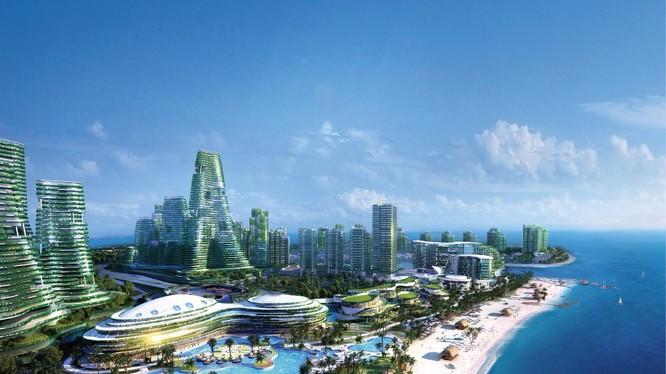 """Một phần Dự án Forest City của Tập đoàn Bích Quế Viên Trung Quốc đang """"mắc kẹt"""" bởi chính sách của Thủ tướng Mahathir Mohamad"""