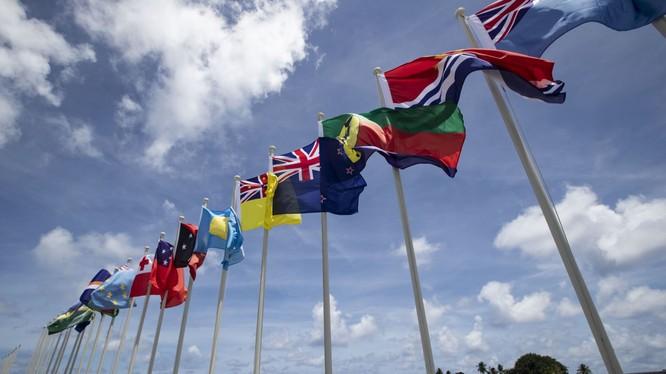 Quốc kỳ các nước thành viên Diễn đàn các đảo quốc Thái Bình Dương (PIF)