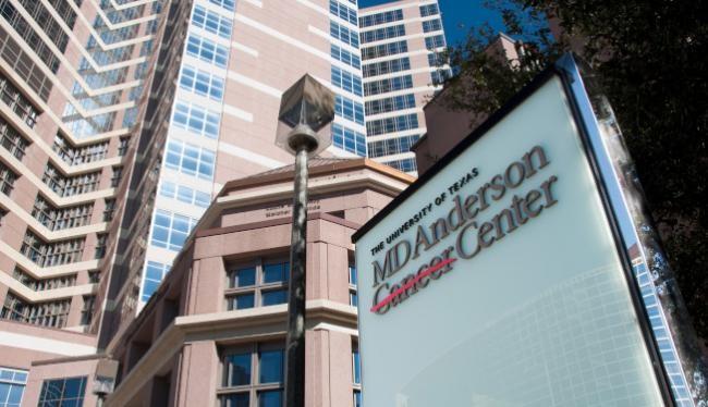 Trung tâm nghiên cứu và điều trị ung thư MD Anderson ở Houston nơi có 9 nhà khoa học gốc Hoa bị đuổi việc