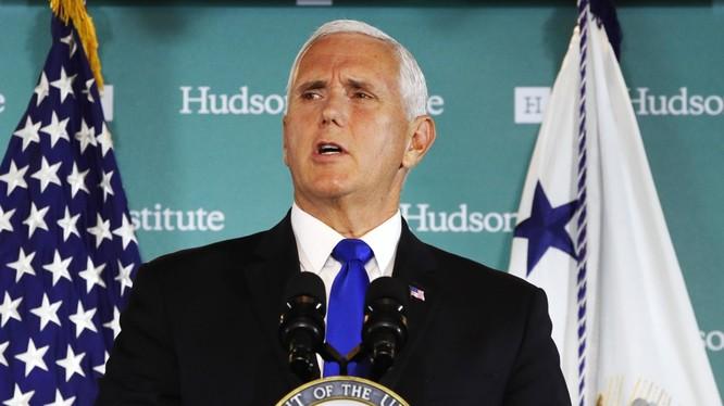Phát biểu của ông Mike Pence tại Viện Hudson hôm 4/10 đã bộc lộ toàn bộ logic trong chính sách kiềm chế Trung Quốc của Mỹ