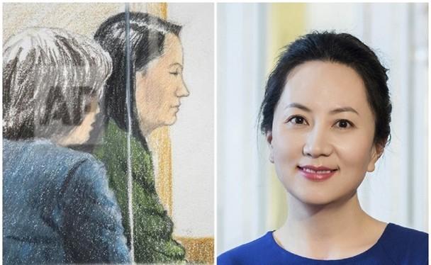 Bà Mạnh Vãn Chu đã không được tòa án Canada chấp nhận đóng 750.000 USD để được bảo lãnh tại ngoại trong buổi điều trần hôm 7.12.