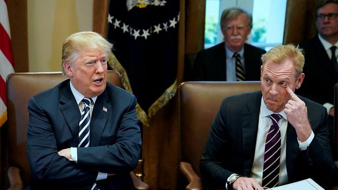 Ông Patrick Shanahan có thể sẽ thể hiện sự trung thành theo chính sách của ông Donald Trump cứng rắn với Trung Quốc.