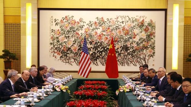 Cuộc đàm phán cấp cao lần này có thể sẽ quyết định việc liệu hai nước Mỹ - Trung có đạt được một hiệp nghị về mậu dịch trước ngày 1.3.2019 hay không?