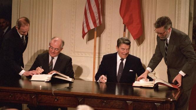Mỹ tuyên bố rút khỏi Hiệp ước INF họ ký với Nga được cho là hành động nhằm đối phó Trung Quốc.