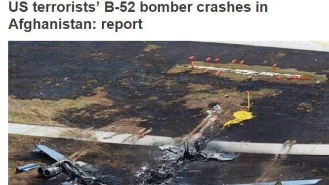 Thông tin về việc Taliban bắn hạ B-52 của Mỹ trên truyền thông quốc tế
