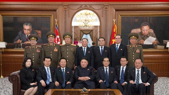 Ban lãnh đạo mới của Hội đồng Nhà nước Triều Tiên mới được bầu tại kỳ họp thứ nhất Hội nghị nhân dân tối cao khóa 14.