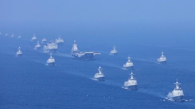 Trung Quốc sẽ tổ chức cuộc duyệt binh hải quân trên biển lớn chưa từng thấy vào ngày 23.4 tới đây tại Thanh Đảo.