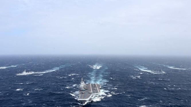Mở rộng quy mô lớn các hạm tàu mặt nước là phương hướng phát triển chiến lược biển xa của Trung Quốc