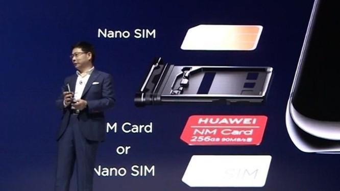 Mặc dù Huawei công bố đã sản xuất được thẻ nhớ MicroSD riêng NM, nhưng tới đây có thể không được phép sử dụng vì không còn tư cách hội viên Hiệp hội SD