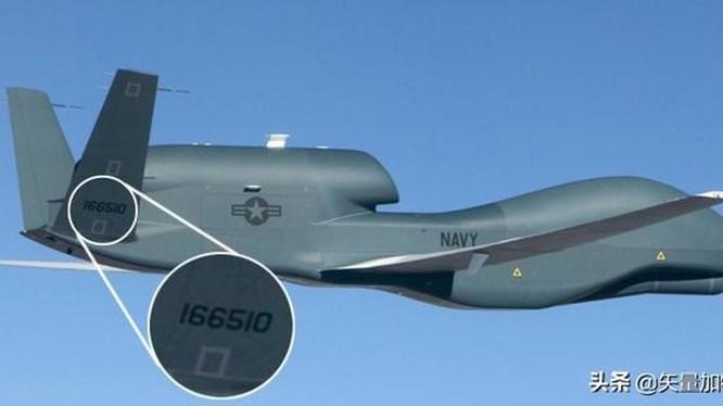 Chiếc máy bay không người lái tối tân RQ-4A BAMS-D số hiệu 166510 này đã bị Iran bắn hạ hôm 19/6