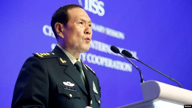 Phát biểu của Bộ trưởng Quốc phòng Trung Quốc Ngụy Phượng Hòa tại Đối thoại Shangri-La được cho là đại diện cho phái cứng rắn ở Trung Quốc