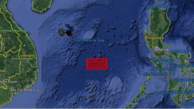 Khu vực biển rộng 22.200 km2 trên Biển Đông bị Trung Quốc khoanh thành vùng cấm để tập trận