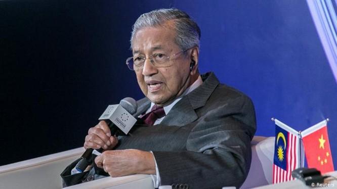 Thủ tướng Malaysia Mahathir Mohamad.