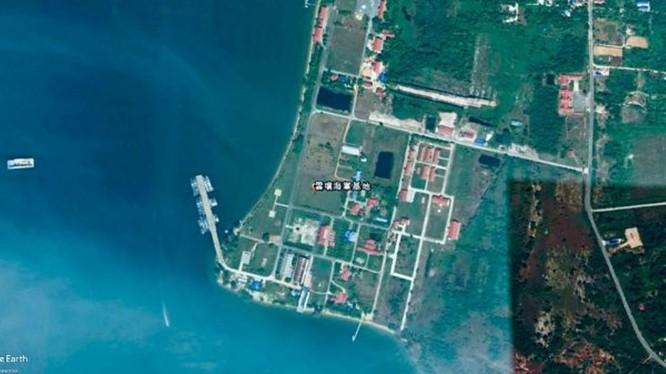 Căn cứ hải quân Ream, nơi có thể được Trung Quốc xây dựng thành điểm cung cấp hậu cần cho hải quân