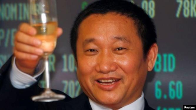 Tỷ phú Trung Quốc Lưu Trung Điền, người vừa bị Mỹ khởi tố về các tội lừa đảo và rửa tiền quốc tế
