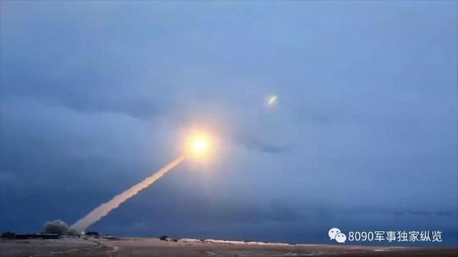 Một vụ phóng thử nghiệm tên lửa sử dụng sức đẩy hạt nhân 9M370 Burevestnik