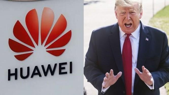 """Tổng thống Donald Trump tuyên bố với các phóng viên trước khi lên máy bay từ New Jersey về Nhà Trắng: """"Tôi căn bản không muốn làm ăn với Huawei vì đó là mối đe dọa đối với an ninh quốc gia"""""""