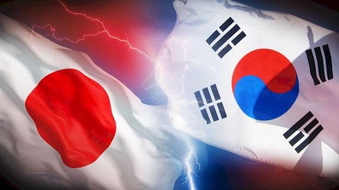 Quan hệ Hàn Quốc - Nhật Bản đang xấu đi nghiêm trọng do vấn đề lịch sử để lại. Ảnh: RTI