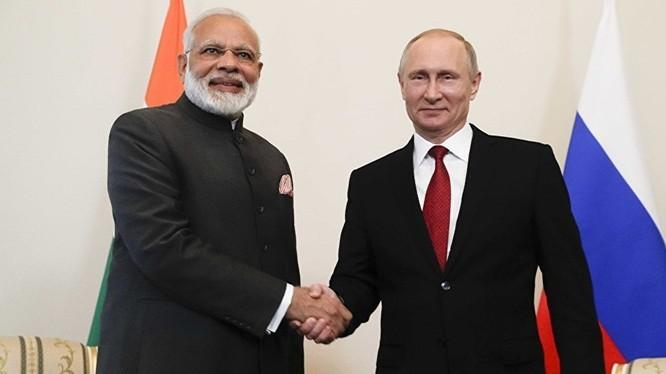 Thủ tướng Ấn Độ Narendra Modi bắt đầu chuyến thăm Nga từ 4/9, một nội dung quan trọng là bàn về hợp tác quân sự giữa hai nước. Ảnh: Sputnik