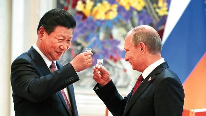 Phương Tây đang ngày càng lo lắng về việc quan hệ giữa Moscow và Bắc Kinh đang được tăng cường.