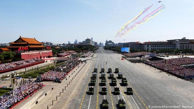 Ngày 1 tháng 10 tới, Trung Quốc sẽ tổ chức cuộc diễu binh lớn chưa từng có trong lịch sử tại Quảng trường Thiên An Môn