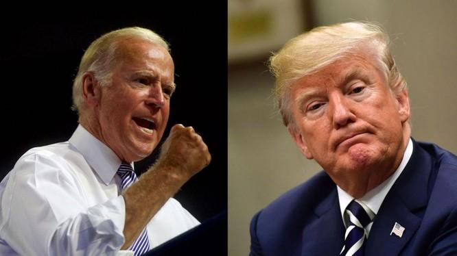Hai ông Joe Biden và Donald Trump thường xuyên đấu khẩu trong vấn đề chính sách đối với Trung Quốc