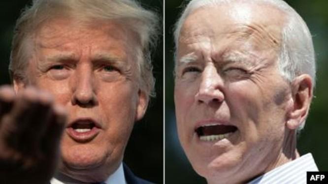 Cuộc chạy đua vào Nhà Trắng chưa bắt đầu nhưng giữa hai ông Donald Trump và Joe Biden đã liên tiếp xảy ra khẩu chiến