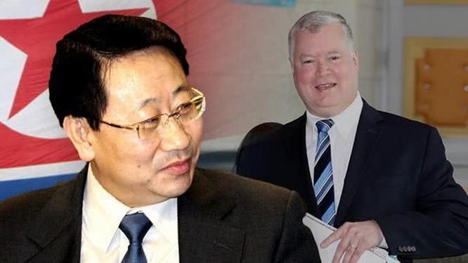 Cuộc đàm phán cấp chuyên viên tại Stockholm hôm 5/10 kết thúc,hai bên Mỹ và Triều Tiên đưa ra những nhận định trái ngược nhau về kết quả.