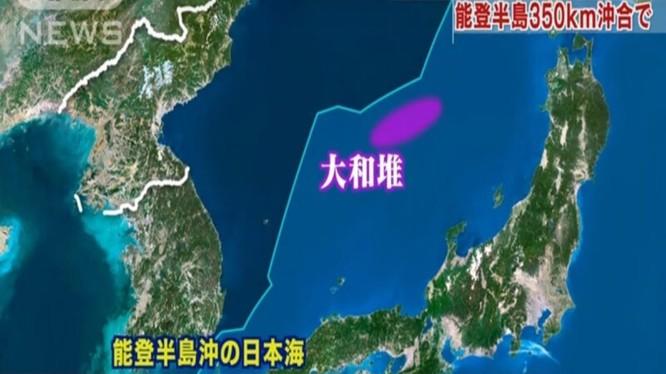 Khu vực xảy ra vụ đâm va khiến tàu Triều Tiên bị chìm nằm trong vùng đặc quyền kinh tế (màu tím). Ảnh: Đông Phương