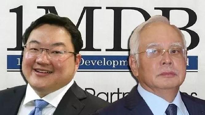 Jho Low Lưu Đặc Tá (trái) và cựu Thủ tướng Malaysia Najib Razak, hai nhân vật chính của vụ đại án Quỹ 1MDB.